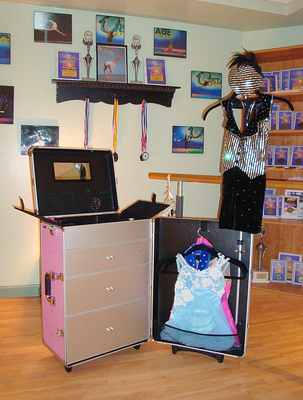Competitor's Trolley is the travel solution for dance competitors.